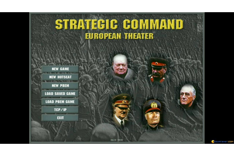 Strategic Command: European Theater gameplay (PC Game ...