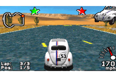Let's Play Herbie Fully Loaded (Story Mode) (GBA) part 1 ...