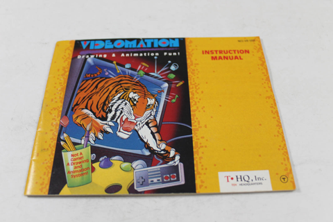 Manual - Videomation - Nes Nintendo