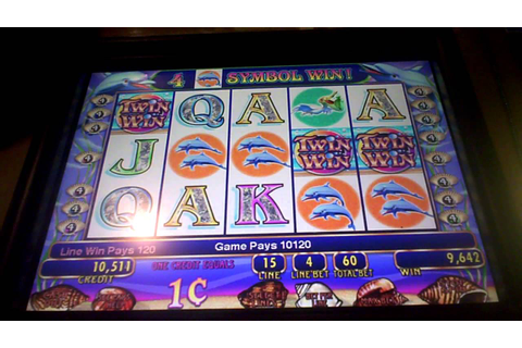 Twin Win Slot Machine Line Hit - YouTube