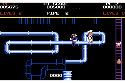 Download Super Pipeline (Commodore 64) - My Abandonware