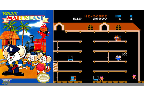 Play Mappy on NES