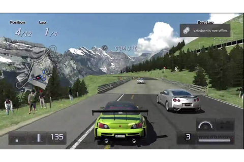gran turismo 5 prologue HD PVR test HD 720p - YouTube