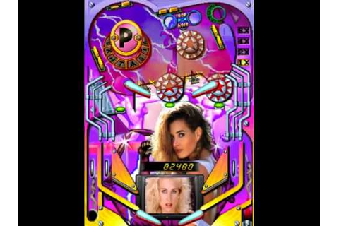 Gals Pinball MAME Gameplay video Snapshot -Rom name ...