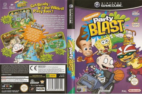 GNPP70 - Nickelodeon Party Blast