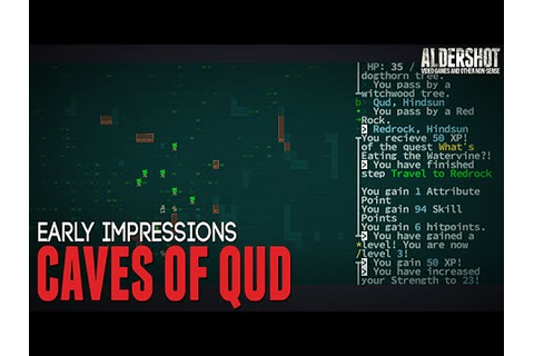 Caves of Qud: Early Impressions (Rogue like ASCII indie ...