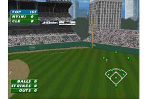 Frank Thomas Big Hurt Baseball Download (1996 Sports Game)