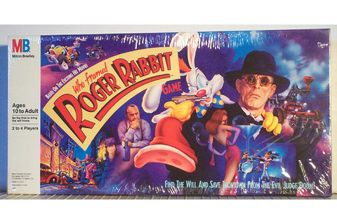 Board Game of the Week: Who Framed Roger Rabbit (Milton ...
