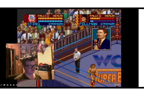 lets play wcw superbrawl wrestling - YouTube
