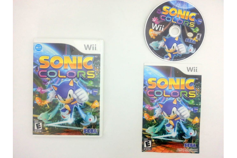 Sonic Colors game for Nintendo Wii -Complete - TheGameGuy.ca