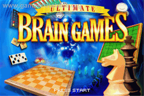 Ultimate Brain Games - Nintendo Game Boy Advance - Games ...