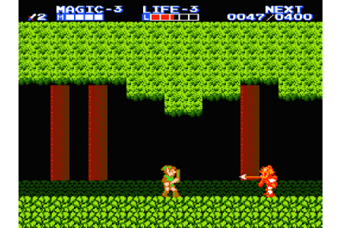 Retro Review: Zelda II: The Adventure of Link (3DS ...