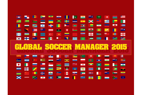 Global Soccer Manager 2015 Demo file - Indie DB