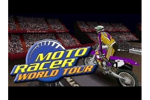 Gameplay Moto racer world tour [ PS1 ] Double commentary ...
