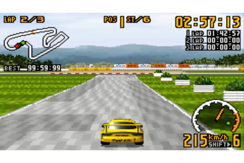 Top Gear GT Championship (Gameboy Advance Gameplay) - YouTube