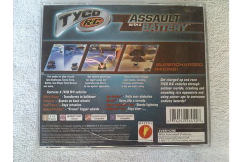 Tyco R/c Assault With A Battery Ps1 - $ 300.00 en Mercado ...