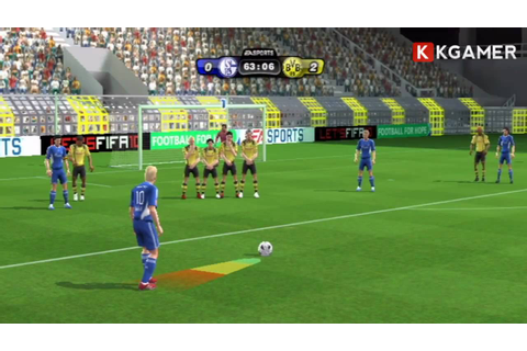 Fifa 10 Wii - Gameplay Review - YouTube