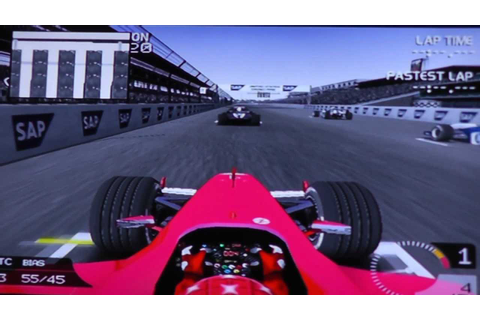 F1 2003 PS2 Gameplay Indianapolis Grand Prix - YouTube