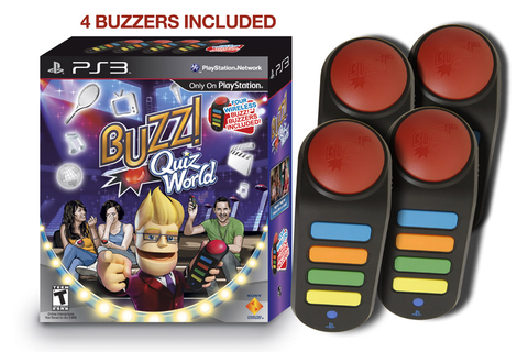 Amazon.com: Buzz! Quiz World Bundle: Video Games