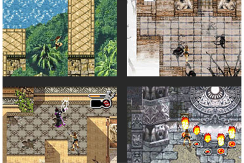 Tomb Raider for Game Boy and Game Boy Advance | Stella's Site
