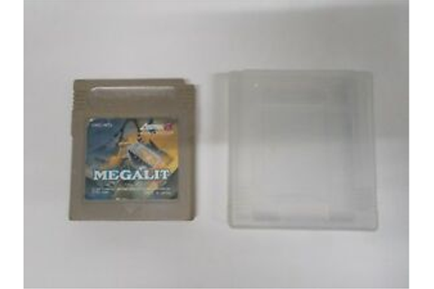 GB -- Megalit -- Game Boy, JAPAN Game Nintendo. Cleaned ...