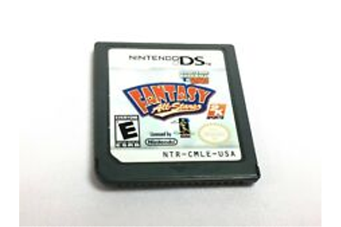 Major League Baseball 2k9 Fantasy All-Stars Nintendo DS ...