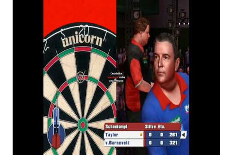 PDC World Championship Darts 2008 (PC Game) 9 Darter - YouTube