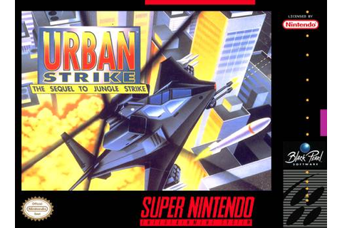 Urban Strike SNES Super Nintendo