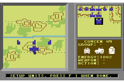 Modem Wars (1988) by Ozark Softscape C64 game