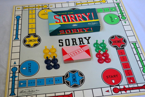 The game Sorry is based on the game Parcheesi and first ...