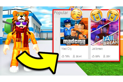 This Game Killed Jailbreak?… (Roblox Mad City) – Top Game ...
