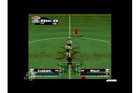 ESPN MLS Extra Time 2002 GameCube Gameplay - Rapids and ...