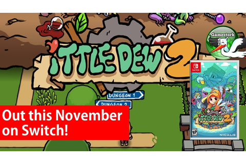 Ittle Dew 2 Coming to Nintendo Switch this November! - YouTube