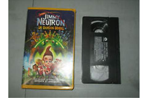 Jimmy Neutron: Boy Genius VHS Tapes for sale | eBay