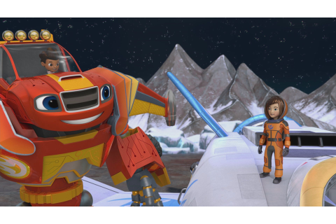 Blaze and the Monster Machines Clip Features NASA ...