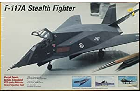 Amazon.com: Testors 1:72 F-117A Stealth Fighter Model Kit ...