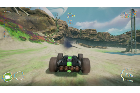 GRIP (Rollcage Racing Game) Wild Gameplay @ Track Islands ...