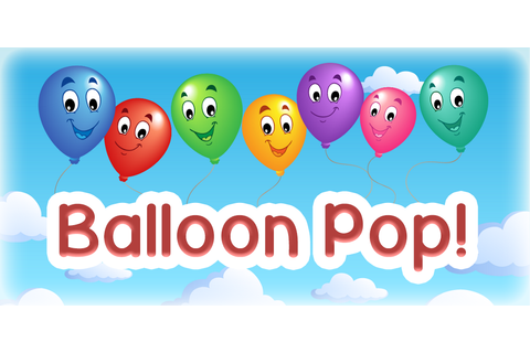 Kids Balloon Pop Game - Fun Learning Game for Preschool ...