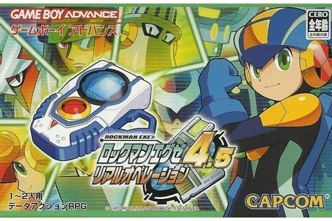 Rockman EXE 4.5 Real Operation ROM - Gameboy Advance (GBA ...