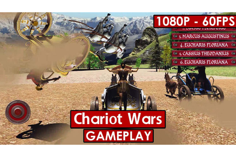 Chariot Wars gameplay HD - Arcade Chariot Racing - [1080p ...