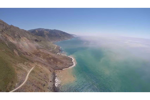 Pacific Coast Highway Landslide Photo Gallery