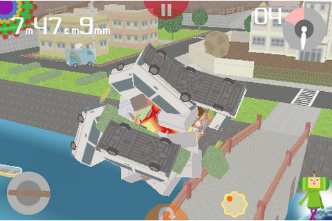 I Love Katamari iPhone, iPod Touch review - DarkZero