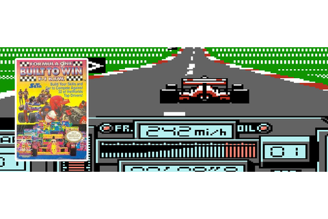 NES AtoZ 57: Formula One Built to Win | AGREEorDIE