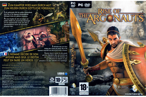Games Covers: Rise Of The Argonauts - PC Game