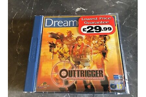 Sega Dreamcast Outtrigger Game Complete & In Near Mint ...