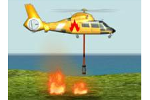 Fire Helicopter - Helicopter