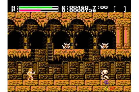Faxanadu: Easy Mattock without killing the Wyvern [Nes ...