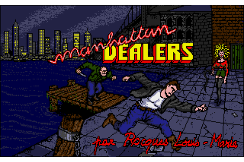 Manhattan Dealers (1988) by Silmarils Amiga game