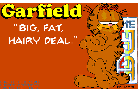 Garfield - Big, Fat, Hairy Deal | 80'S Top Games