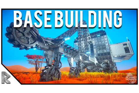 NEW SPACE SURVIVAL GAME, BASE BUILDING - Planet Nomads ...